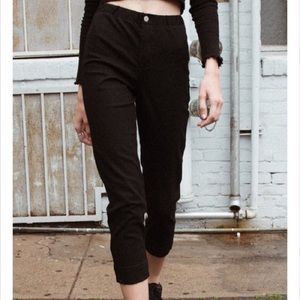BRANDY MELVILLE BLACK TILDEN PANTS